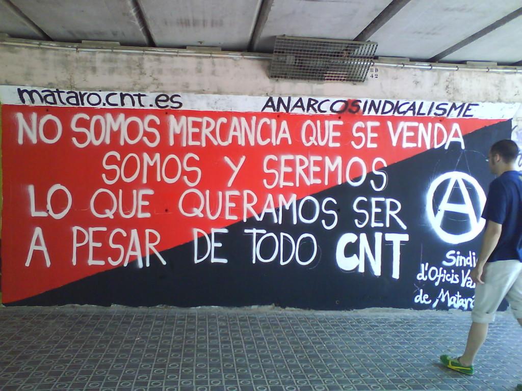La CNT de  Mataró, obrim els Dilluns, Dimecres i Divendres_de 7 a 9 PM ; aprox.!